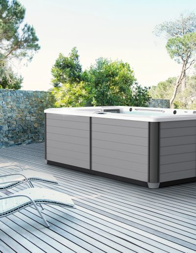 R200-Artic White-Gray Cabinet-lifestyle