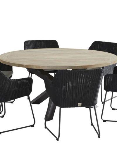 213356-90571_-Avila-dining-set-Polyloom-anthr-with-Louvre-table-160cm-Alu-legs-01 (Copy)