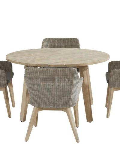 213359-90413-90414_-Avila-dining-set-Polyloom-pebble-with-Derby-round-Teak-table-130cm (Copy)