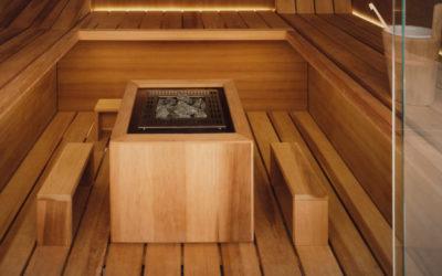 Repose-Pieds pour Saunas